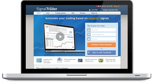Signaltrader Screenshot